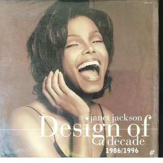 Janet Jackson Design of a decade LASER DISC