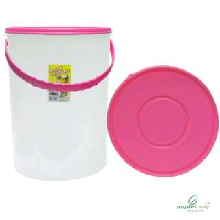 Round Container with handle