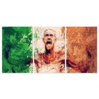 Mcgregor Flag Acrylic Print 3 Piece