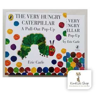 The very hungry caterpillar - 3D Pull-out book