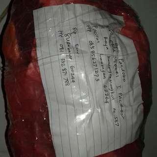 bukti resi dan paket