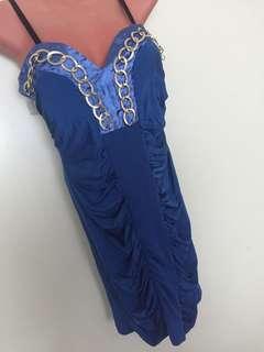 People Are People Elegant Blue Dress