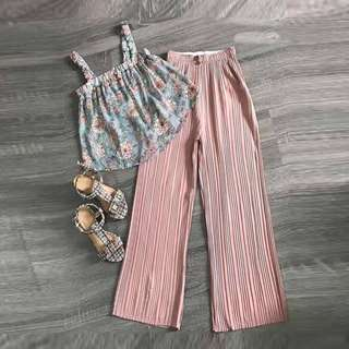 Terno (Top and Pleated Pants)