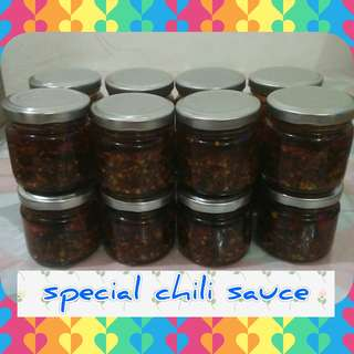 Special chili garlic sauce 100grams