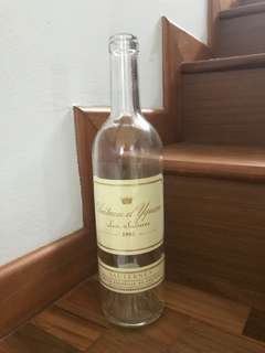CHATEAU D YQUEM 1995 Original Bottle