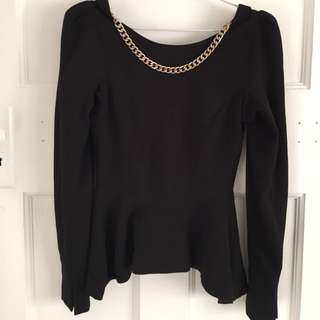 Sheike Peplum Top