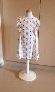[New] 100 Cotton Girl Dress Classic