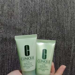 CLINIQUE 7 day scrub cream