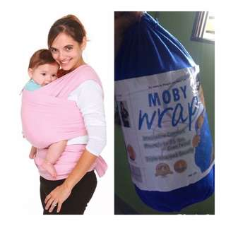 Moby Baby Wrap Blue