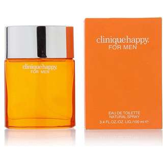 clinique happy perfume for men 100ml