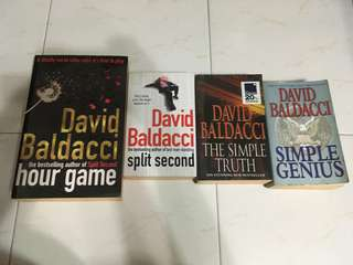 David Baldacci- the Simple Truth, Split Second, simple genius