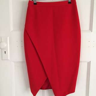 Sheike Red Skirt
