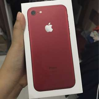 Preloved iPhone 7 128 GB Red Edition