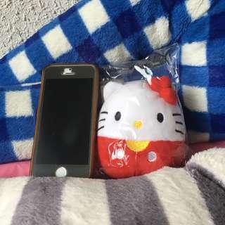 Hello Kitty Squishy stuffed plush keychain