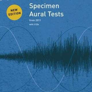 ABRSM SPECIMEN AURAL TESTS GRADE 7 WITH CD
