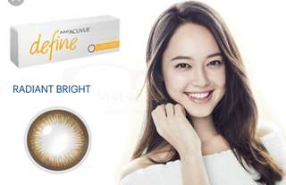 Acuvue Define - Radiant Bright or Natural Shine (daily)