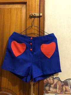 Heart Short Pants