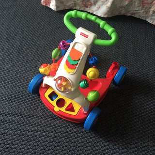Fisher Price walker and activity for baby and toddler