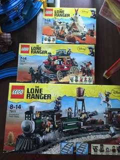 LEGO Lone Ranger #79107/ #79108/ #79111