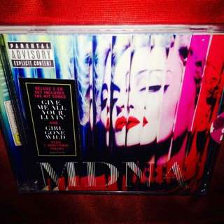 Madonna	-	MDNA (Deluxe Ed. 2-CD)	(Sealed)