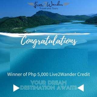 Travel and Tours P5000 Credits