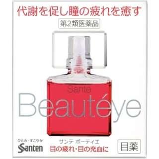 日本 Sante Beauteye 參天玫瑰眼藥水 玫瑰香水型滴眼液 眼藥水 12ml (有效期至2018.09)