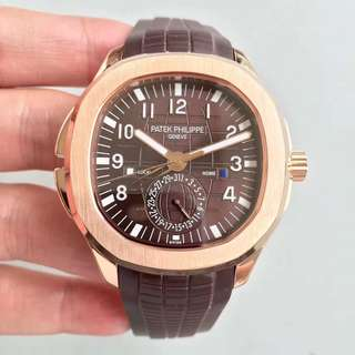 Patek Philippe Aquanaut Travel 18K Rose Gold