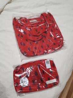 Jujube be light tote bag be quick diaper wipes bag cape cod print bundle