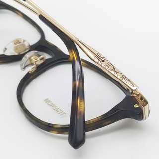 💎 輕量摩登 💎[檸檬眼鏡] RETROCRAFT RC 1041 DEM 義大利製 光學眼鏡 細膩鈦金屬工藝-1