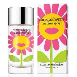 clinique happy summer exclusive summer spray for women 100ml