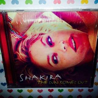 Shakira	-	The Sun Comes Out (with 3 bonus tracks)