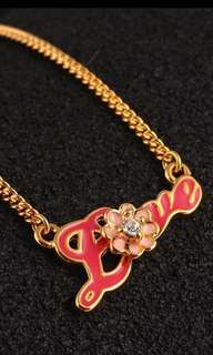 Juicy Couture Love necklace (包郵)