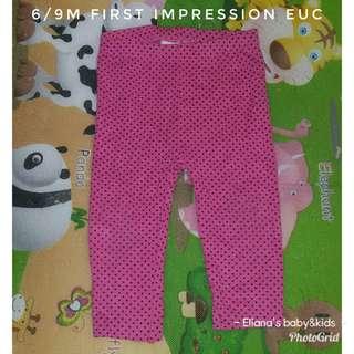 6/9m leggings