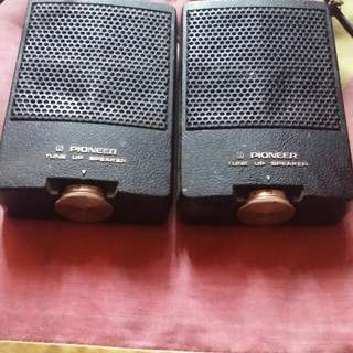 Pioneer vintage car audio tweeters