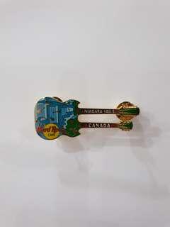 Niagara Falls Canada Hard Rock Cafe Guitar Pin, Collectible