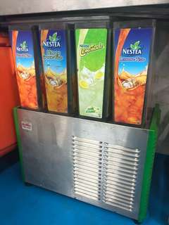 Juice Dispenser - 4 types of drinks can dispose