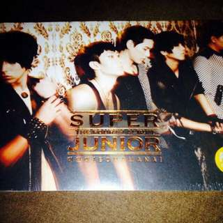 Super Junior	-	4th Album Bonamana Version A (Brown) 2nd ed.