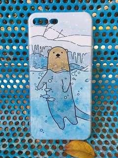 iPhone Case 手機殼 韓國優質 可愛 北極熊 水彩 動物 7plus/8plus