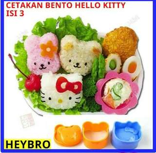 Cetakan Bento Hello Kitty