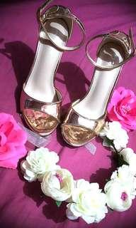NEGO NEW Bridal Wedding / Champagne Classy HEELS