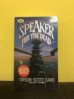 Ender's Saga #2: Speaker for the Dead by Orson Scott Card