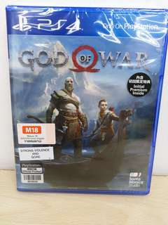 (Brand New) PS4 God of War / R3