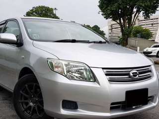 Toyota Axio Auto For Rent