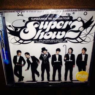 Super Junior	-	Super Show 2 The 2nd Asia Tour (2-CD)