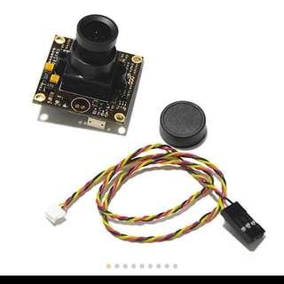DC12V 1/3 960H CCD 700TVL 2.8mm Lens Wide Angle Camera for FPV QAV250