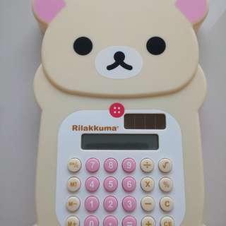 Rilakkuma Solar Calculator Official