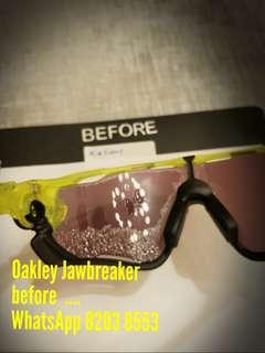Oakley sunglasses Repair Service Restoration for M M2 Frame Radar Ev Path Radarlock Prizm Crosshair Oil Rig Drum Holbrook FrogSkins Scalpel Pit Bull Jawbreaker Jawbone racing flak half jacket