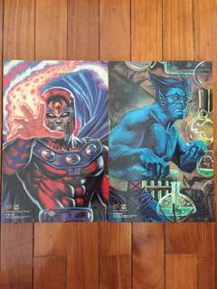 1994 Fleer Ultra Ultra Prints Magneto & Beast