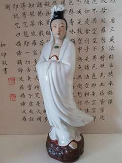 14 inches height antiques Kuan Yin Pusa