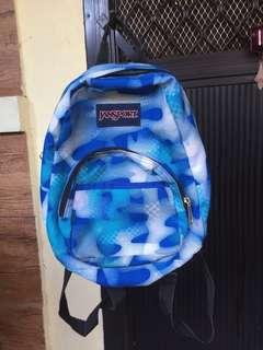 Original/Authentic Jansport Bag (Camouflage Blue)